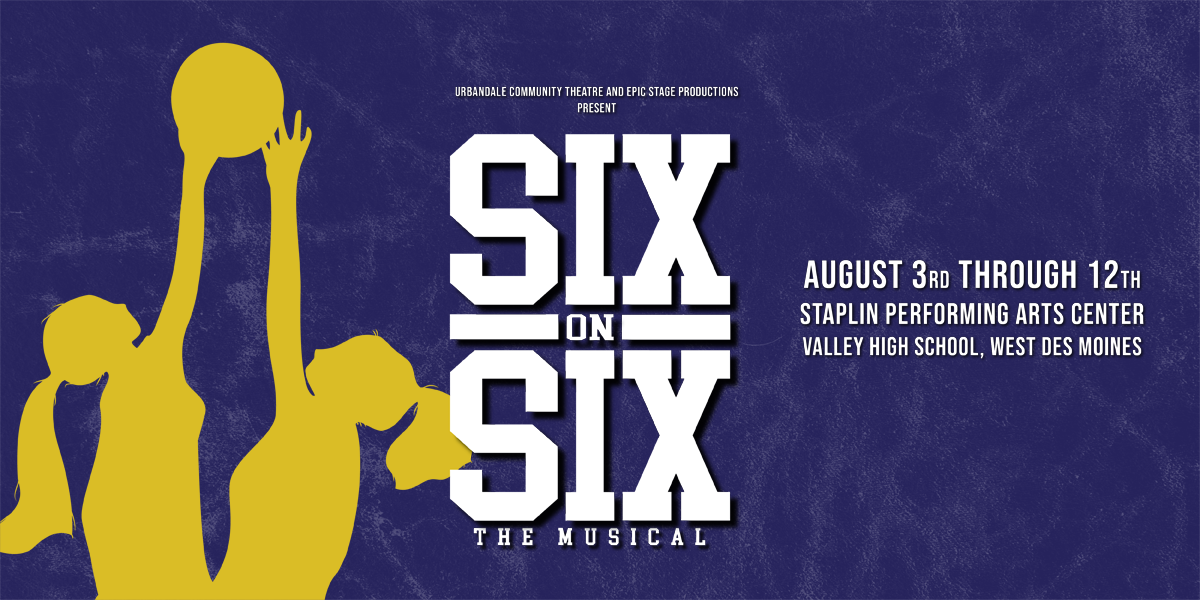 SIX-ON-SIX THE MUSICAL website banner